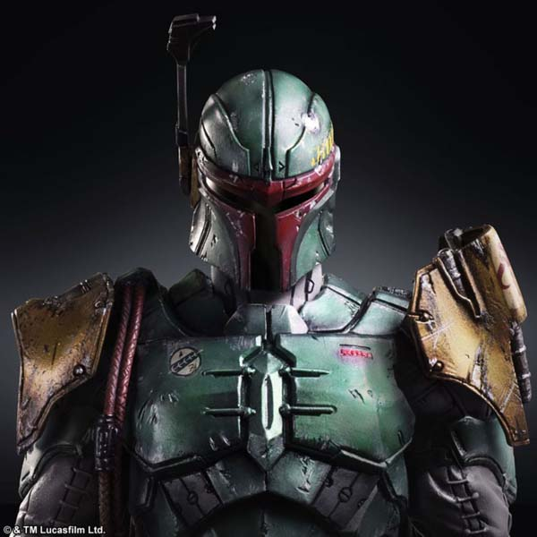 Square Boba Fett Star Wars Figure 1
