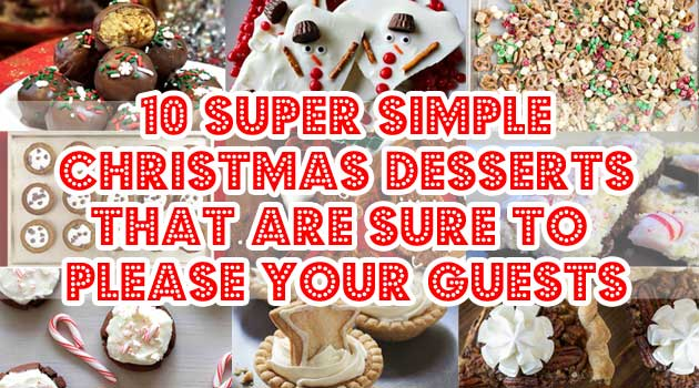 10 super simple christmas desserts that are sure to please your guests ahbsessed